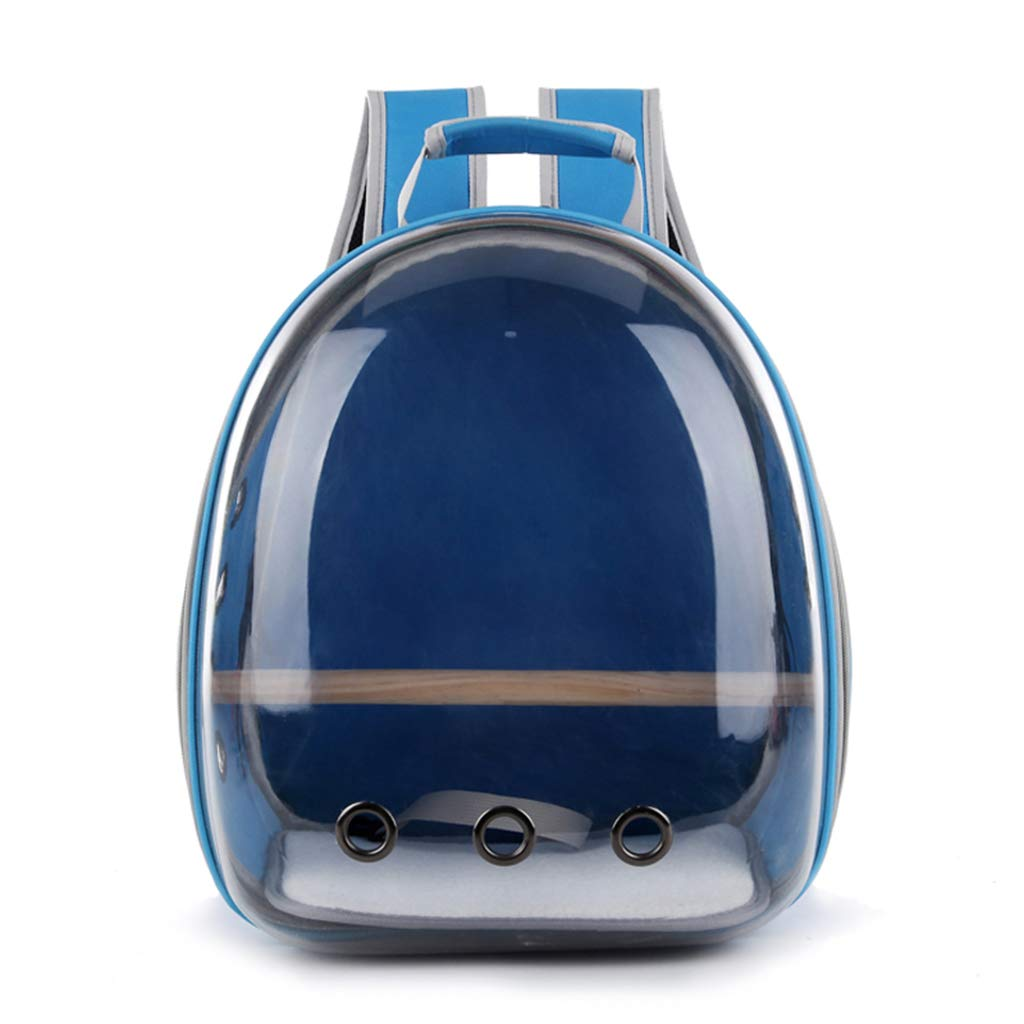 SlowTon Dog Backpack Pet Carrier Bag, Fit for Pets Up to 20lbs Thick Padded Cat Carry Backpack Safety Leash Airline Approved Travel Tote Portable Carrying Bag Small Puppies Rabbits Outdoor Use