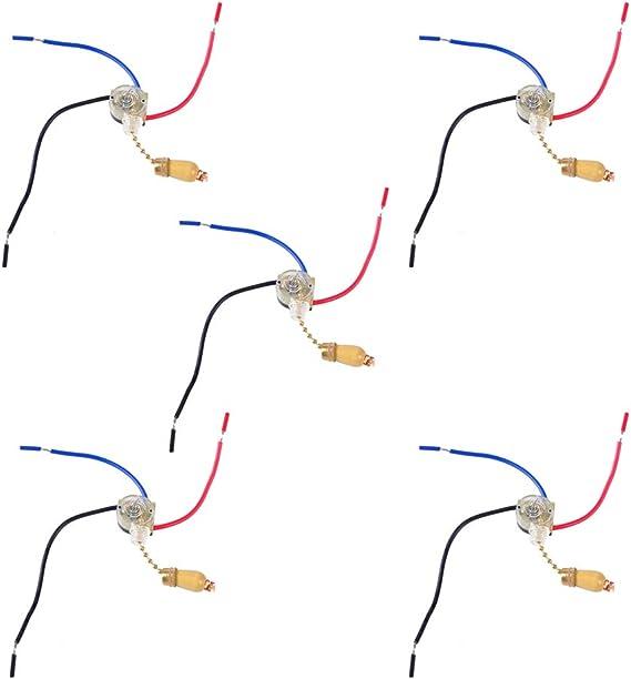 KOOBOOK 3 cables ventilador de techo lámpara de pared lámpara de ...