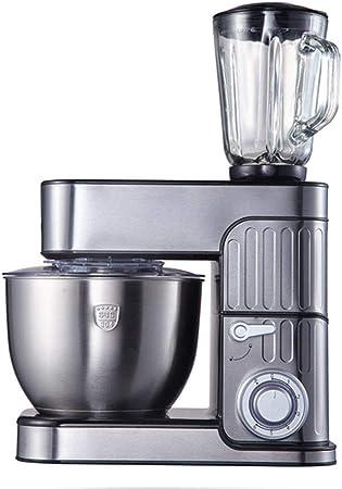 Robot De Cocina 1000W Robot Batidora Amasadora Repostería 6 Velocidades Con Función De Pulso, Para Hornear Pasteles Crema De Huevo Mezcladores De Pie Multifunción 3 En 1,5l juicing: Amazon.es: Hogar