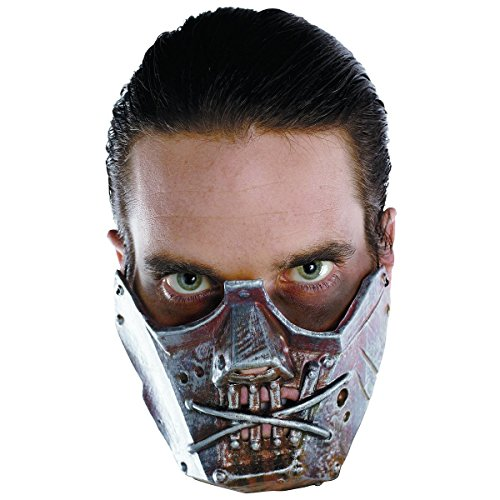 Crazy Costumes 2016 (Cannibal Crazy Mask Costume Accessory)
