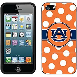 fahion caseiphone 6 4.7 Black Slider Case with Auburn University Polka Dots Design