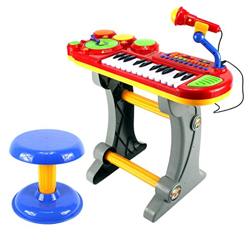 Lil Dj Sound Synthesizer Kid S Children S Toy Piano