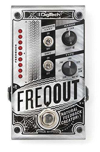 DigiTech Dynamic Feedback Guitar Expression Pedal, Silver (FREQOUT-U) ()