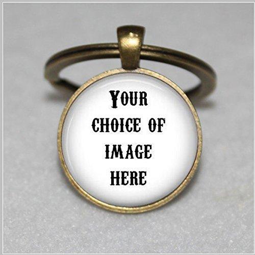 (Customizable Keychain - Custom Keychain - Personalized Keychain - Monogram Keychain - Initial Keychain - Personalized Jewelry -)