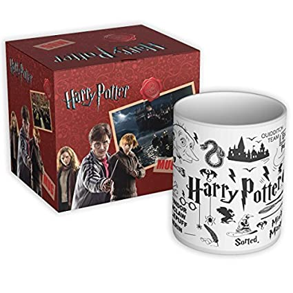 Potter Black Coffee Mugs Gift Set Birthday Anniversary Officially Licensed By Warner Bros USA Online At Low Prices In India