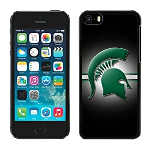 Customized Iphone 5c Case Ncaa Big Ten Conference Michigan State Spartans 25
