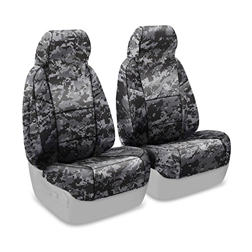 Coverking Custom Fit Center 50/50 Bucket Seat Cover for Select Toyota Sienna Models - Neosupreme Digital Camo (Urban )