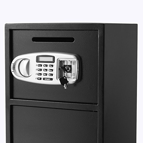 OrangeA Depository Safe Double Door Digital Depository Drop Safe with Drop Slot Safe Cash Drop Box for Home and Office Security by OrangeA (Image #6)