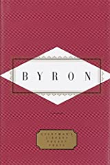 Byron: Poems (Everyman's Library Pocket Poets Series) Hardcover