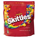 SKITTLES-Original Candy-Assorted Fruit Flavored Candy-Skittles Original Bite-Sized Candies-Resealable Pouch-1-54oz. Bag