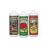 FoxFarm FX14049 Big Bloom, Grow Big & Tiger Bloom Liquid Fertilizer Nutrient Trio Soil-Formula, 3/32-Ounce Bottles
