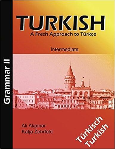 Turkish Grammar II / Türkische Grammatik II
