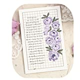 28pcs/packed two pack to sell plant monologue design blessing message wedding greeting cards