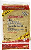 Joseph's Lavash Bread Flax Oat Bran & Whole Wheat Reduced Carb - 4 Square Breads