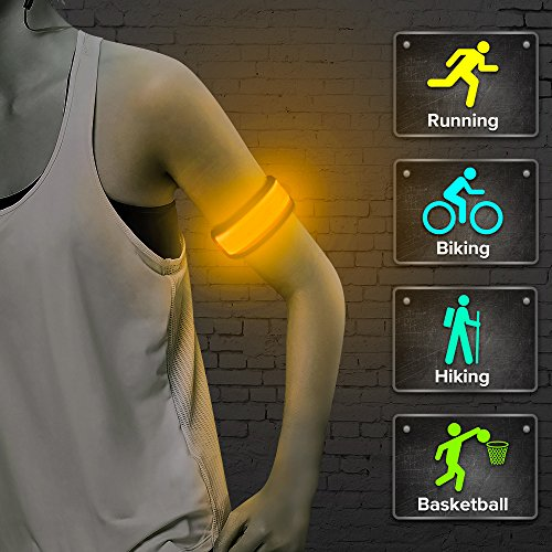 perfect for jogging during dark hours