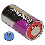 HQRP 6-Volt Battery for Innotek BC-50B BC-50B-22 BC-50 BC-50E Bark Control Receiver Dog Collar + Coaster