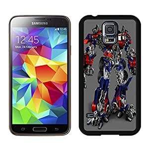 Perfect fit for your beloved phone,100% Brand New Optimus Prime Transformers Black For Samsung Galaxy S5 i9600 Case