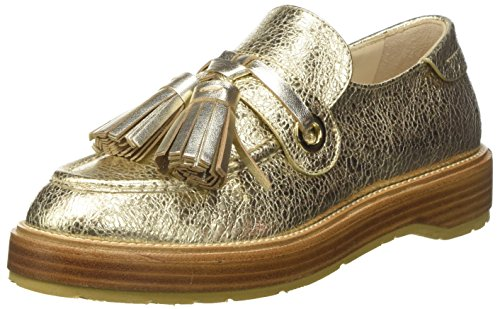 para Loafer Set Mocasines Cs8pbl Platino Mujer Dorado Twin xU1qO68q