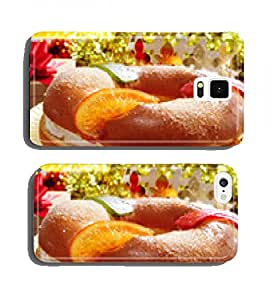 roscon de reyes, spanish three kings cake cell phone cover case Apple iPhone 4