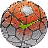 Nike Club Team Soccer Ball, White/Total Orange/Black (3)