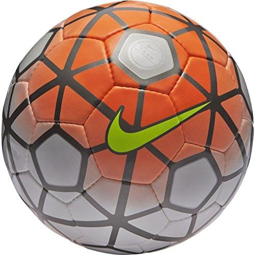Nike Club Team Soccer Ball, White/Total Orange/Black ()