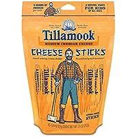 Tillamook Medium Cheddar Cheese Sticks 7.5 Oz (Pack of 4)