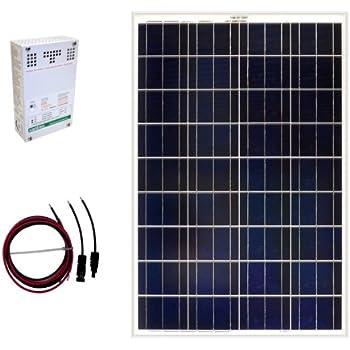 Amazon Com Grape Solar Gs 100 Kit 100 Watt Off Grid