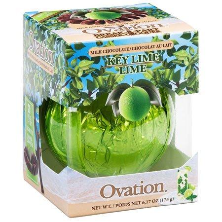 Key Lime Chocolate - Ovation Milk Chocolate Key Lime Break a Parts 6.17 Oz