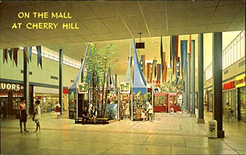 On The Mall At Cherry Hill Cherry Hill, New Jersey Original Vintage - Hill Jersey Mall New Cherry