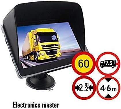 10,92 cm GPS navegador GPS incluye parasol para camión, coche ...