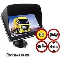 10,92 cm GPS navegador GPS incluye parasol para camión, coche, autobús,