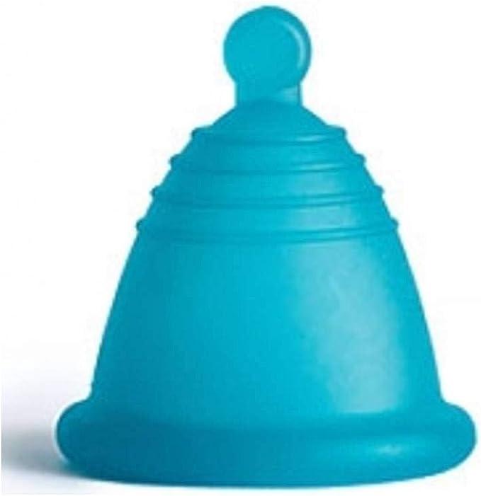 MeLuna Copa menstrual MeLuna Shorty, Azul, Soft, Bola ...