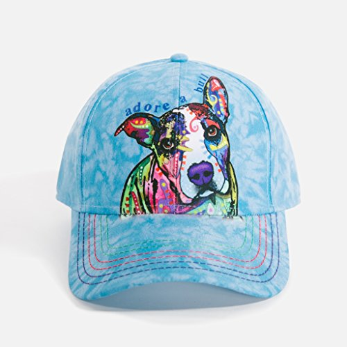 The Mountain Unisex Dean Russo Blue Baseball Cap Adore A Bull ()