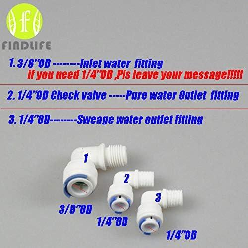 Fumak: Filtro de Warter Partes RO Membrana Carcasa para 3013-400 ...