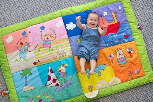 Tappeto Morbido Per Gattonare : Taf toys kooky tappetino per gattonare amazon giochi