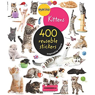 Cat Fan related Products Eyelike Stickers: Kittens [tag]