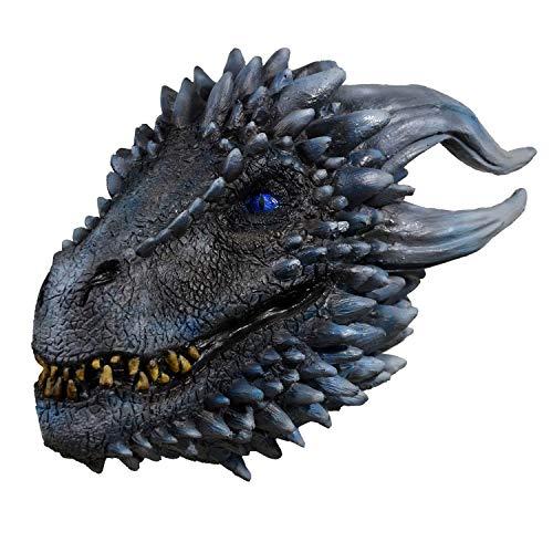 Trick Or Treat Studios Game of Thrones White Walker Dragon Mask Standard -