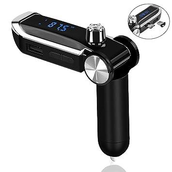 XIAOSD TeléFono MóVil Bluetooth Cargador De Coche 2A Coche ...