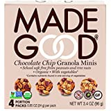 Made Good Granola Minis Chocolate Chip, 24 gram, (Pack of 6)
