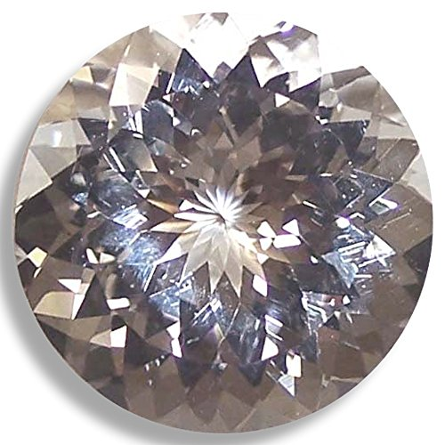 Natural Topaz White Round Brilliant Loose Unset Gem (6mm) click for more sizes