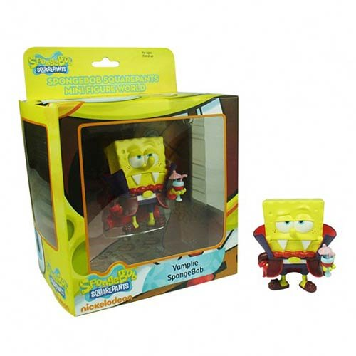 SpongeBob SquarePants Mini figura Serie Mundial 1 – Vampire Bob Esponja