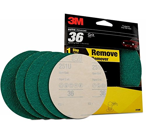 3M 31548 Stikit Green Corps 6'' 36E Grit Disc (Pack of 20)