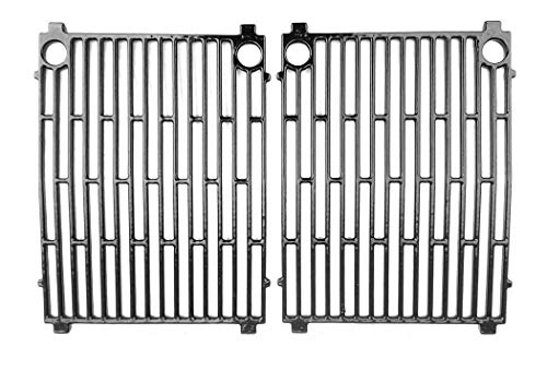 (Cast Iron Grates For Arkla, Kenmore, Sunbeam, Grillmaster SG6501EP, Grillmaster SG6501EPB Gas Models, Set of)