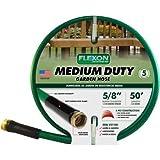 Flexon 50' Medium-Duty Garden Hose, Green