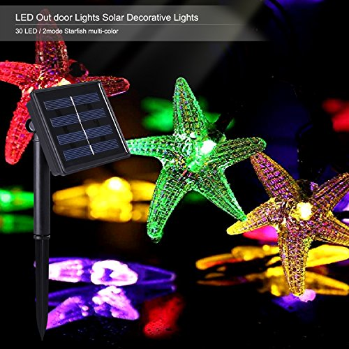 Outdoor Solar Power Decorative String Lights, C...