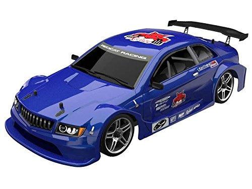 Redcat Racing EP Brushless Touring Car with ALU Shocks, Ball Bearing, 2.4 Radio and BL10315 Body (1/10  Scale), Metallic Blue (Best Pro Touring Cars)