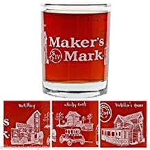 Maker's Mark Distillery Wrap Limited Edition Rocks Glass
