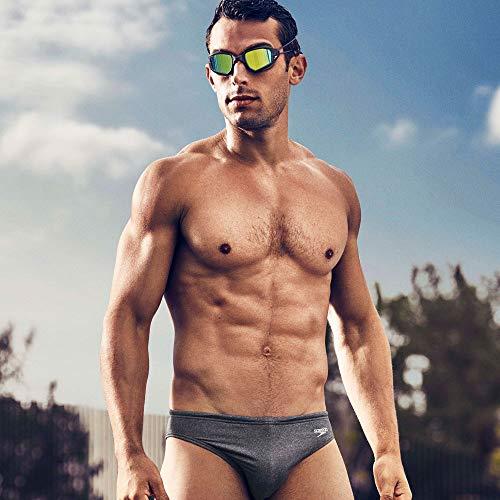 fe220e1796 Speedo Men's Brief Swimsuit - Fitness Solar 1-Inch Xtra Life Lycra -  LYSB01K5N7BXU-SPRTSEQIP < Briefs < Sports & Outdoors - tibs