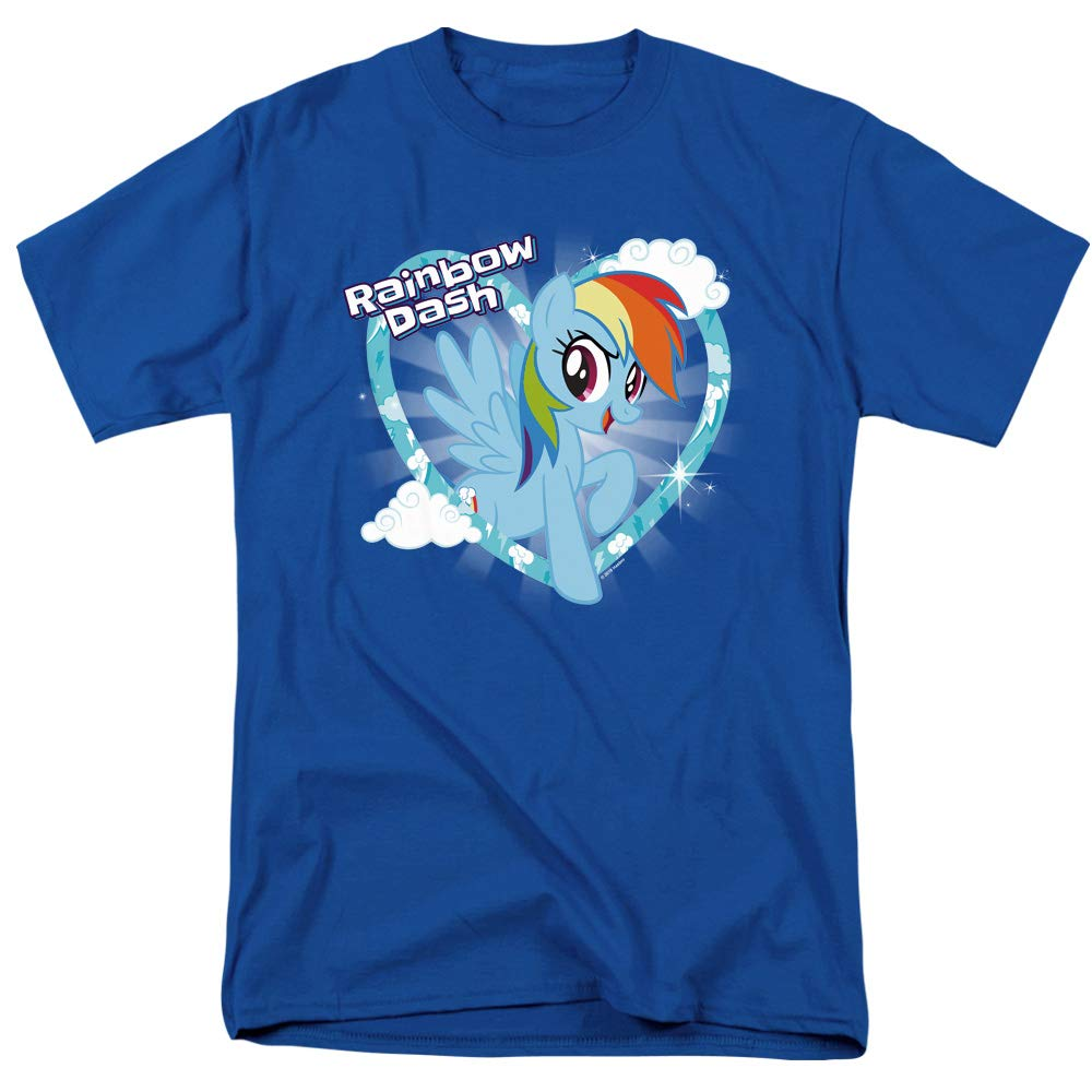 My Little Pony Rainbow Dash Unisex Adult T Shirt for Men and Women