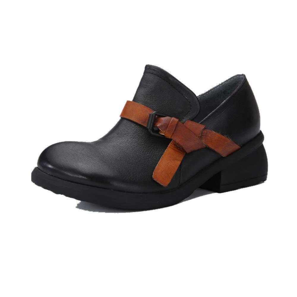 ZPEDY B077KWBNJM Chaussures ZPEDY pour Femmes, Rétro, Minimaliste, Décontracté, Tendance, 19353 Confort, Personnalité Black f7e8589 - piero.space